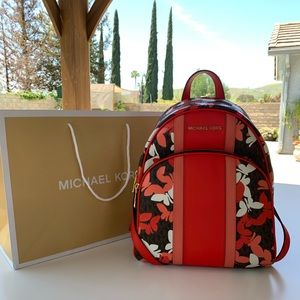 Michael Kors Abbey Medium Backpack 🦋